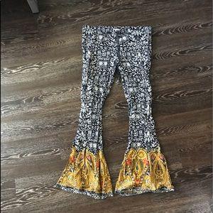 Bend of Gypsies Wide Leg Pants.